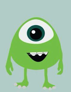 Little Mike Wazowski from Monsters University