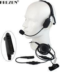 5Pcs 2Pin Headset Earpiece Earphone Mic For BaoFeng VERTEX TYT YAESU Two Way UE