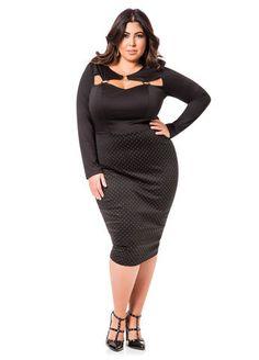 Dot Pattern Skirt Dress