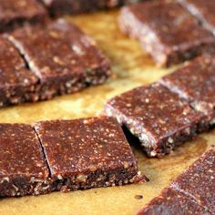 No Bake Chocolate Almond Zesty snack bars, 2 ways. vegan glutenfree - Vegan Richa