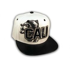 This is a High Quality Black on White Cali Bear Snapback Hat from Top Level. It has Embroidered Cali in on the Front! With A Black Bear in Print! Embroidered California State on the Side! And Black Bear and Star Embroidered on the Back! Hip Hop Hat, Snapback Cap, Black Bear, Beanies, Baseball Hats, California, Flats, 3d, Diamond