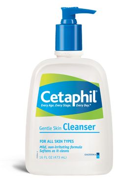 Lovely non-irritating gentle cleanser that gets all the make-up off without stripping or drying your skin.
