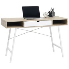 ABBETVED Desk ($149) ❤ liked on Polyvore featuring home, furniture and desks