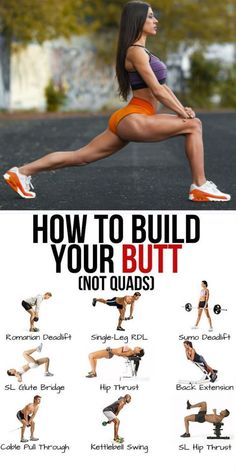 4 Moves For A Bigger Better Butt Exercise glutes Fun Workouts, At Home Workouts, Killer Leg Workouts, Glutes Workout Men, Trx Workouts For Women, Barbell Workout For Women, Basketball Workouts, Body Workouts, Exercise For Glutes