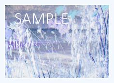 A beautiful lavender note card, perfect for sharing your love and sending a smile to someone you care about.