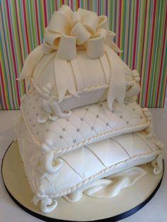 Pillow Wedding Cakes, Pillow Cakes, Pillows, Champagne Wedding Cakes, White Wedding Cakes, Amazing Wedding Cakes, Amazing Cakes, African Wedding Cakes, Traditional Wedding Cakes