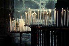 Festival of Candles - all lights in the city are extinguished at the beginning of the Festival. One by one, the people light their candles as the procession passes. Samhain, Be Light, Magick, Witchcraft, Wicca, Fairy Lights, Chandeliers, Lanterns, Disneyland