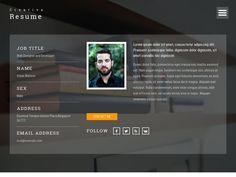 Адаптивная персональная страница на отзывчивой вёрстке Bootstrap 3, готовый шаблон страницы персонального портфолио, скачайте бесплатно.