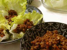 野菜たっぷり肉みそ♪挽き肉のレタス巻き☆の画像