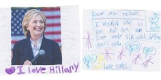 16 Heart-Melting Letters to Hillary Clinton From Girls Who Just Want to See a Woman in the White House