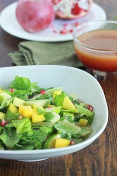 Pomegranate and Apple Salad