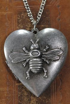 The Honey Bee on your Heart Locket