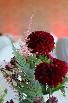 ... Hochzeitsdeko in Bordeaux von www.aber-mit-liebe.de//leistungen.php