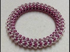 Bling Bangle Tutorial ~ Seed Bead Tutorials