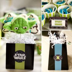 """Out of This World"" Star Wars Birthday Party"