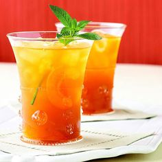 Apricot Iced Tea - try this recipe first!  Recipe calls for vanilla and a couple of cans of apricot nectar.