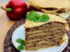 Tort naleśnikowy z wątróbką