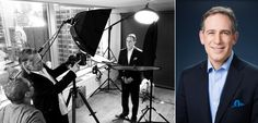 Behind the scenes of corporate headshots with Terry Gruber