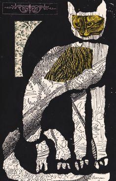 Ben Jones illustration cat