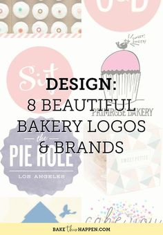 Deciding on your baking businesses brand and logo can be one of the most painstaking tasks of setting up your business.  There are so many options and ideas it can be hard to even know where to start.  Not to mention how indecisive you become when making decisions for yourself...or maybe that'
