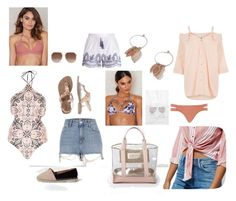 """""""Beach essentials"""" by claudinesque on Polyvore featuring moda y River Island"""