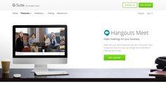 #Comunicación #conversaciones #empresas Hangouts Meet y Hangouts Chat, las dos nuevas herramientas de comunicación para G Suite