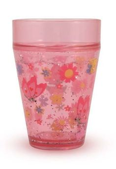 Glitter and pink...a girl's best friend. $2.39 Bella Butterfly Shaky Cup