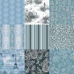 Sant agostino ID Wonder Blue Art Nouveau, Curtains, Blue, Design, Home Decor, Insulated Curtains, Homemade Home Decor, Blinds, Draping