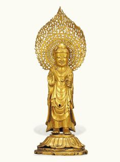 [Unified Silla Period (Before 692)] Buddha from the Pagoda at Hwangboksa Temple Site (Korea)