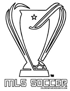 mls soccer coloring pages - 48 best soccer coloring pages images on pinterest