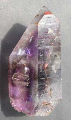 Brandberg Smokey and Amethyst Flame Negative Manifestation Harlequin Rainbow Enhydro