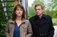 #Polizeiruf Das Team aus Magdeburg: Brasch (Claudia Michelsen) und Drexler (Sylvester Groth)