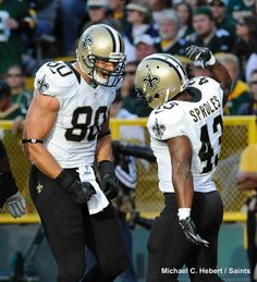 Darren Sproles and Jimmy Graham