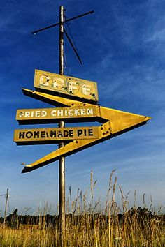 Cafe sign - Route 66 Lebanon - Missouri - USA