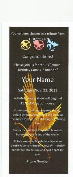 Ideas for planning your Catching Fire DVD release party!
