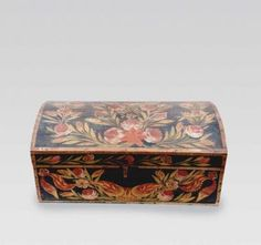 French Norman Domed Brides Box c 1815