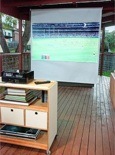 How to make an open-air cinema  - Better Homes and Gardens - Yahoo! New Zealand