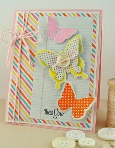 PTI Beautiful Butterflies, Love Lives Here, Butterfly Dreams. http://simplyhandmadebyheather.blogspot.com/2014/06/butterfly-fusion.html