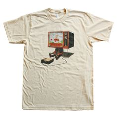 1985 T-shirt by Mike Mitchell #nintendo