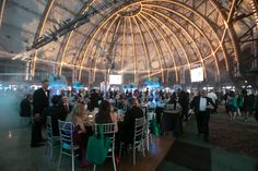 The Grand Ballroom at Navy Pier at the Friends of Prentice 28th Annual Gala