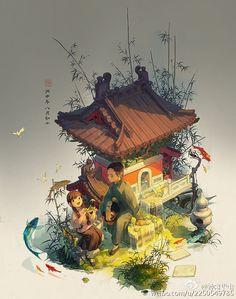 ArtStation - 泉, 鍾離 華蟲