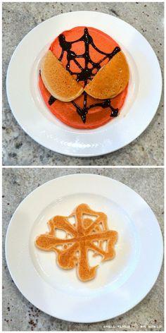 Small Family Big World: Fun Pancakes for Kids - Spiderman Pancakes
