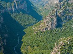Vikos River View by James Trickey, via Flickr