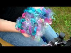 How to Spin Wool Locks on an Ashford Country Spinner