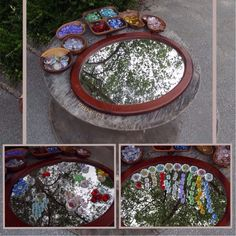 Counting on a Mirror Outdoors (from Stimulating Learning with Rachel) Outdoor Classroom, Outdoor School, Play Based Learning, Learning Through Play, Reggio Emilia, Outdoor Learning Spaces, Maths Area, School Displays, Forest School