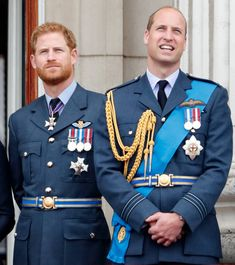 L R Prince Harry Duke Of Sussex And Prince William Duke Of Cambridge