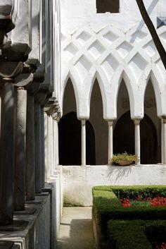 Amalfi, Duomo di Amalfi, Kreuzgang - Duomo di Amalfi, Kreuzgang, Amalfi, Italy Naples Italy, Amalfi Coast, Affair, Napoli Italy