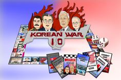 Korean War IO is a 2D property trading game.  The Korean War lasted from June 1950 – July 1953 and was a civil war between two opposing sides — North and South Korea. http://www.opoly.io/