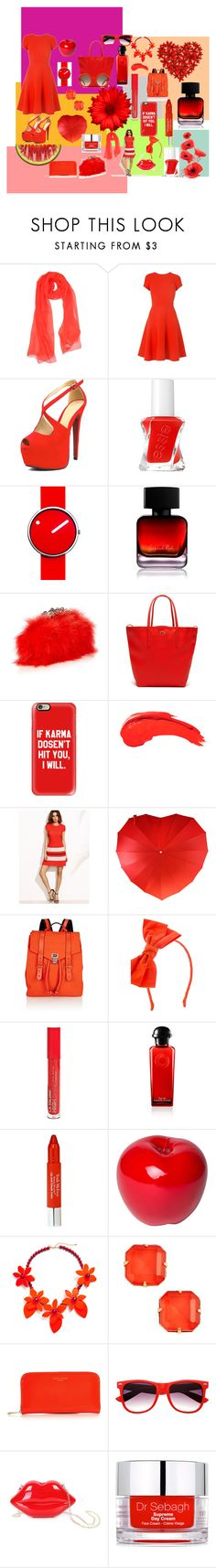 """""""Dinner with Friend Look by BIANCA"""" by bianca-maria-poroschianu ❤ liked on Polyvore featuring Blumarine, Essie, Rosendahl, The Collection by Phuong Dang, Alexander McQueen, Lacoste, Casetify, Anastasia Beverly Hills, Proenza Schouler and Johnny Loves Rosie"""