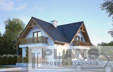 Шале в американському стилі | Plans | Проекти будинків Modern House Design, My Home Design, 30x40 House Plans, Model House Plan, Cottage Plan, Country House Plans, Facade House, Log Homes, Home Builders